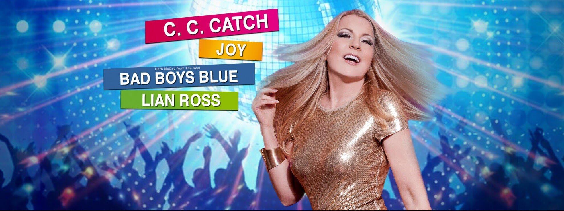 событие Дискотека 80-х (СС Сatch, Bad Boys Blue, Joy, Lian Ross)