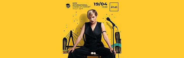 Наталя Гаріпова. Kyiv international stand up comedy week 2019 (Київський міжнародний тиждень стендап комедії)
