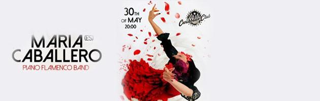 Maria Caballero (Мария Кабальеро). Piano Flamenco Band (Пиано Фламенко Бенд)