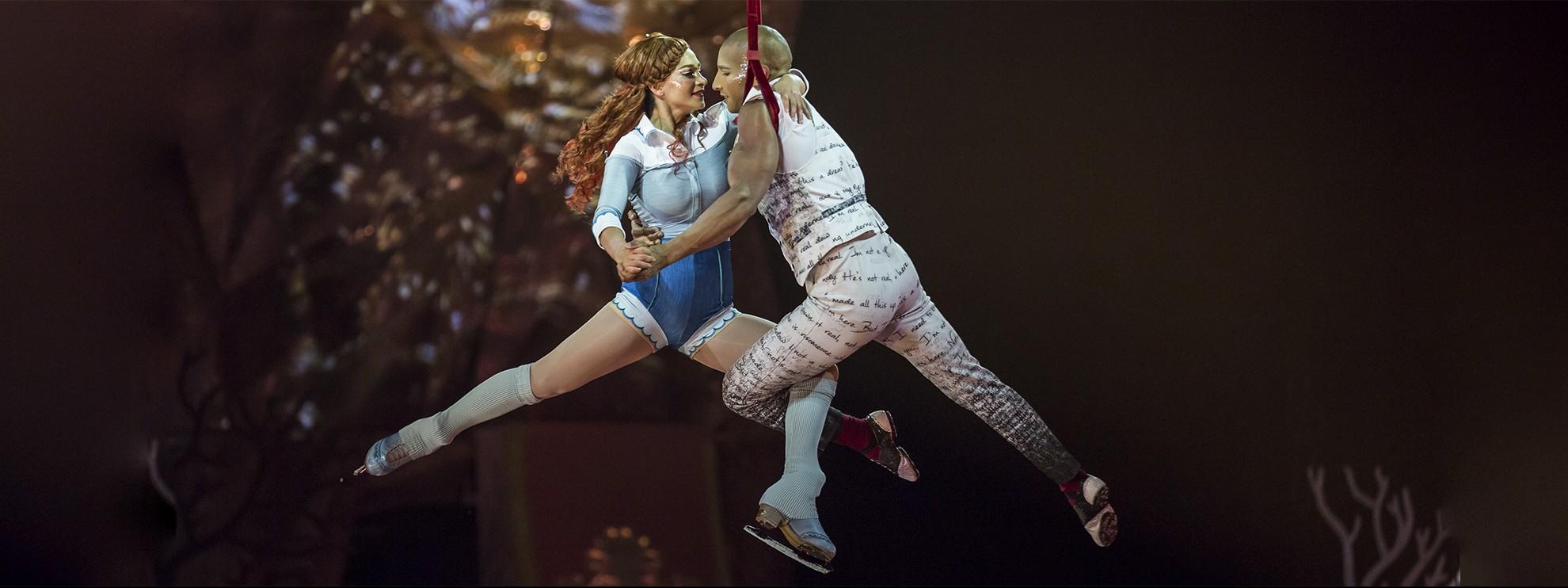 виконавець Cirque du Soleil (Цирк Дю Солей)